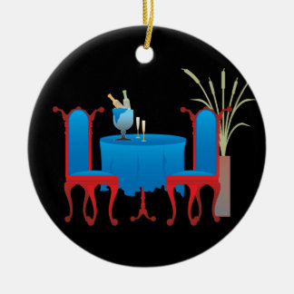 Table for Two Ornaments