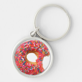 Table Kitchen Donuts Sweets Dessert Donut Keychain