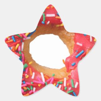 Table Kitchen Donuts Sweets Dessert Donut Star Sticker