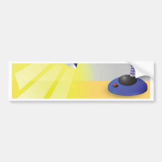 Table Lamp Bumper Sticker