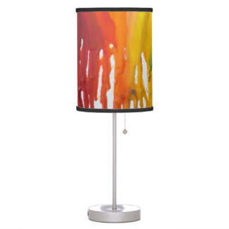 Table Lamp- Melted Crayon Table Lamp