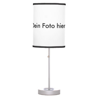Table lamp with your photo