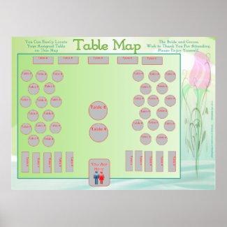 Table Location Map (horizontal) print
