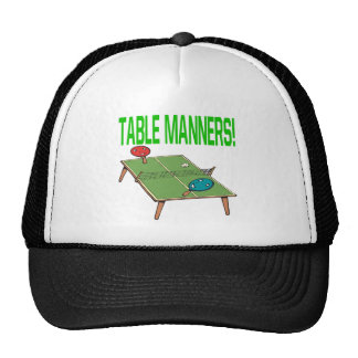 Table Manners Trucker Hat