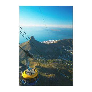 Table Mountain Cable Car, Cape Town Canvas Print