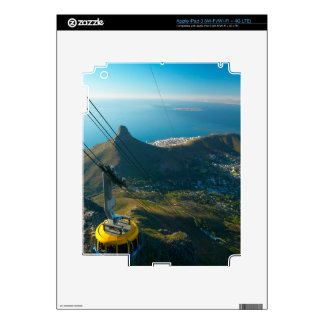 Table Mountain Cable Car, Cape Town Decals For iPad 3
