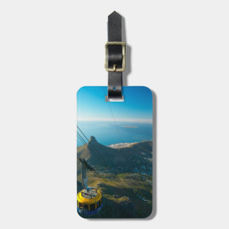 Table Mountain Cable Car, Cape Town Luggage Tag