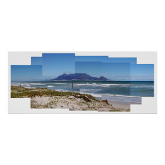 Table Mountain, Cape Town, South Africa Poster