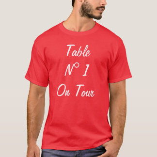 Table N 1 On Tour T-Shirt
