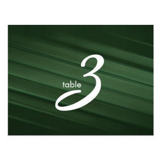 table number card postcard