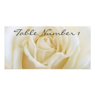Table Number Cards Photo Card