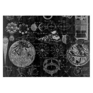 Table of Astronomy Cutting Board