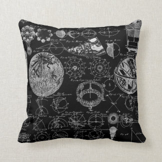 Table of Astronomy Throw Pillow