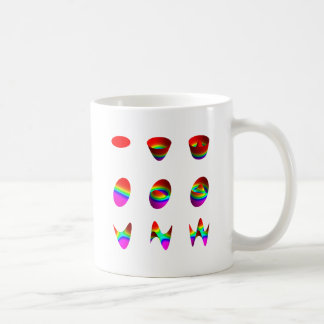 Table of lowest order Zernike polynomials Classic White Coffee Mug