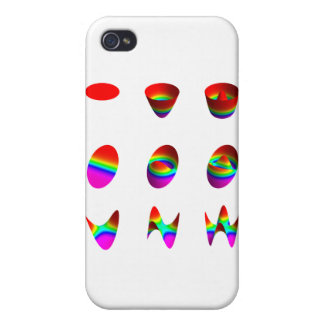 Table of lowest order Zernike polynomials iPhone 4 Case