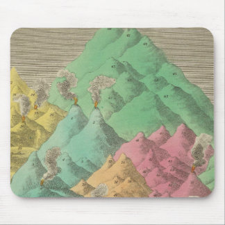 Table of the Comparative Heights Mouse Pad