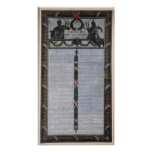 Table of the Declaration of the Rights of Man Poster