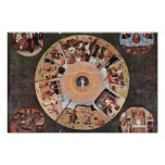 Table Of The Mortal Sins.,  By Hieronymus Bosch (B Print