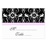 Table Place Card Victorian Damask Business Card