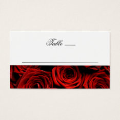 Table Place Cards at Zazzle