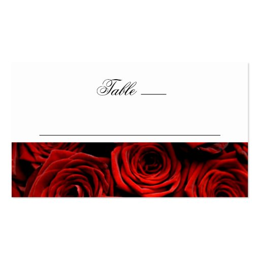 what is the standard size of a place card 2