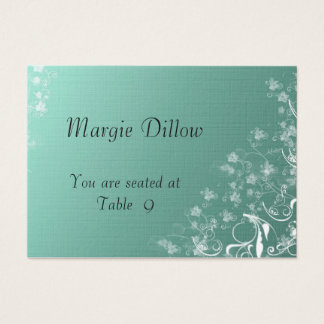 Table Place Cards for Weddings Template