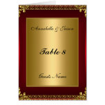 Table Placement Card and Menu Greeting Cards