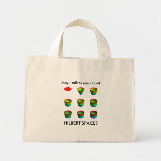 table_ri, HILBERT SPACE?, May I talk to you about Mini Tote Bag