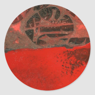 """""""Table Rock #3"""" Abstract Design Sticker"""