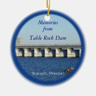 Table Rock Dam Ornament 7577 & 2338