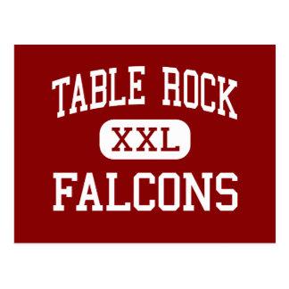 Table Rock - Falcons - Middle - Morganton Postcard