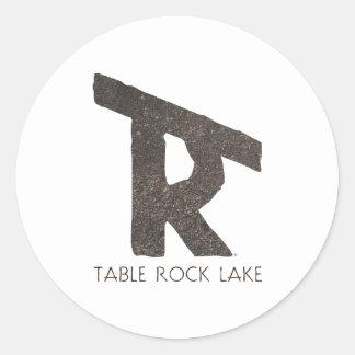 Table Rock Lake Classic Round Sticker