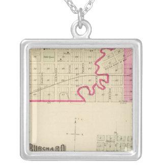 Table Rock, Nebraska Silver Plated Necklace