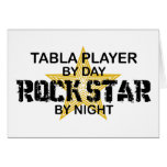 Table Rock Star by Night Greeting Card