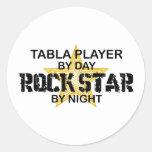 Table Rock Star by Night Round Sticker