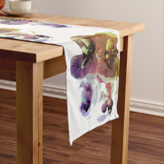 Table runner of 35.5 cm X 183 cm Orchis