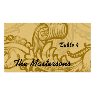 Table Seating for Wedding Double-Sided Standard Business Cards (Pack Of 100)