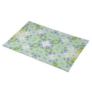 "Table set ""blue jump "" cloth placemat"