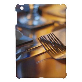 Table set for dining iPad mini case