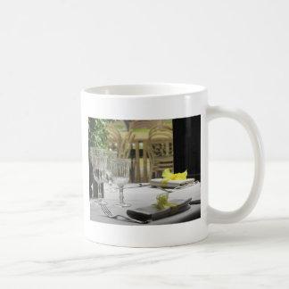 Table setting for Christmas or other event Coffee Mug
