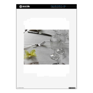 Table setting for Christmas or other event Decal For iPad 2