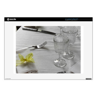 """Table setting for Christmas or other event Decals For 15"""" Laptops"""