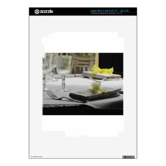 Table setting for Christmas or other event Decals For iPad 3