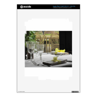 Table setting for Christmas or other event iPad 3 Skin
