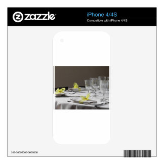 Table setting for Christmas or other event iPhone 4 Skin