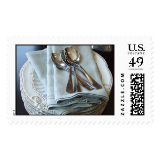Table Setting Stamp
