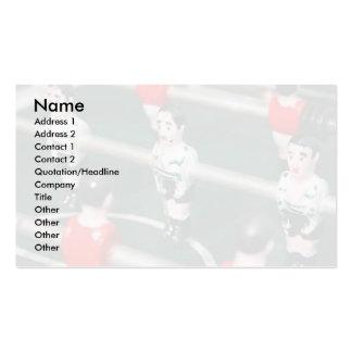 Table soccer / Football Business Card