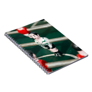 Table soccer / Football Spiral Note Books