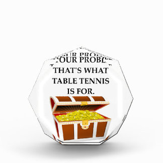table tennis acrylic award