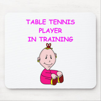 table tennis baby mouse pad